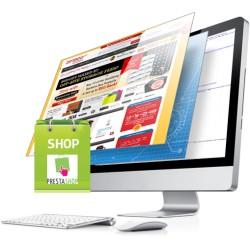 Site e-commerce PrestaShop clé en main