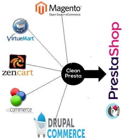 Migration de votre boutique vers PrestaShop